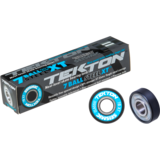Seismic Tekton 7-Ball XT Steel Classic Free-Spacer Longboard Skateboard Bearings