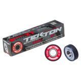 Seismic Tekton 6-Ball XT Steel Classic Free Spacer Longboard Skateboard Bearings