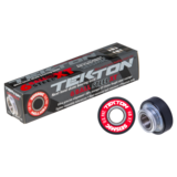 Seismic Tekton 6-Ball XT Steel Built-In Longboard Skateboard Bearings