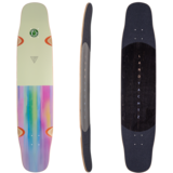 Landyachtz 2020 Tony Danza Stratus 40 Watercolor Longboard Skateboard Deck W/ Grip