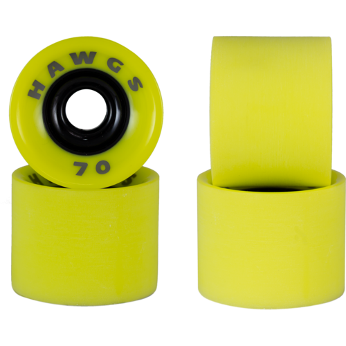 70mm Supreme Hawgs Longboard Skateboard Wheels