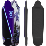 Madrid Bigfoot Longboard Skateboard Deck w/ Grip