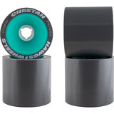 77mm Dual-Duro Cheetah Hawgs Longboard Skateboard Wheels
