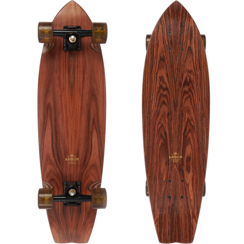 Arbor Sizzler Flagship Series Longboard Skateboard Pre-Assembled Complete