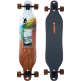 Arbor Axis 40 Photo Longboard Skateboard Pre-Assembled Complete