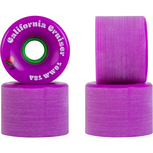 70mm Remember California Cruisers Longboard Skateboard Wheels