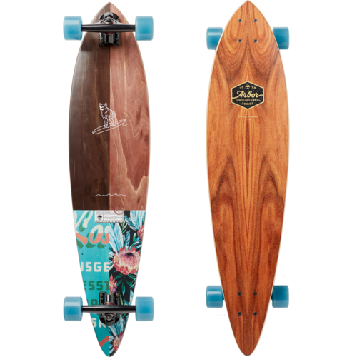 Arbor Fish 37 Groundswell Longboard Skateboard Pre-Assembled Complete
