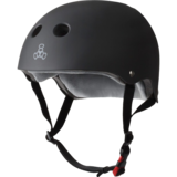 Triple8 The Certified Sweatsaver Helmet - Black Rubber