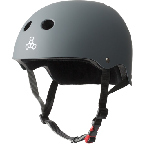 Triple8 The Certified Sweatsaver Helmet - Carbon Rubber