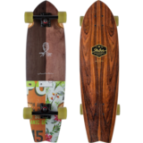Arbor Sizzler Groundswell Longboard Skateboard Pre-Assembled Complete