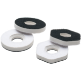 Seismic Hollow Slide Puck Risers