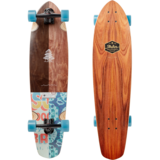 Arbor Mission Groundswell Longboard Skateboard Pre-Assembled Complete