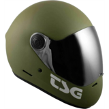 TSG Pass Full Face Helmet -MATTE OLIVE Plus bonus clear visor