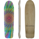 Bonzing Super FATTY Longboard Skateboard Deck w/ Grip