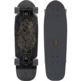Dinghy 2021 Blunt Black PineCone Longboard Skateboard Pre-Assemble