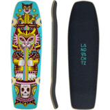 Landyachtz 2021 Dinghy Coffin Kitty Mini-Longboard Skateboard Custom Complete