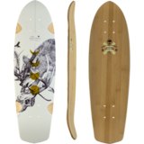 Arbor 2021 Bamboo Pocket Rocket Mini-Cruiser Skateboard Custom Compete