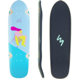 Landyachtz 2021 Dinghy Fender Mischief Mini Cruiser Longboard Skateboard Deck w/Grip