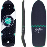 Sector 9 Fat Wave Mosaic Park Skateboard deck w/grip