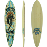 Sector 9  Bamboo Jelly Swift Pintail Longboard Skateboard Deck w/grip