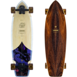 ARBOR 2021 Groundswell Rally Mini-Cruiser Skateboard Pre-Assembled Complete