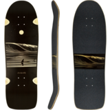 Landyachtz 2021 ATV-X Ditch Life Dark Wave  Skateboard Deck w/grip