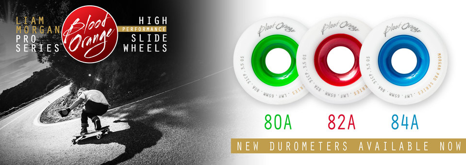 Liam Morgan Pro Series Wheels are now available in 3 durometers!
