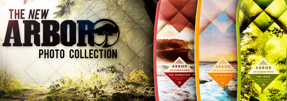 Check the new Photo Collection from Arbor Skateboard!