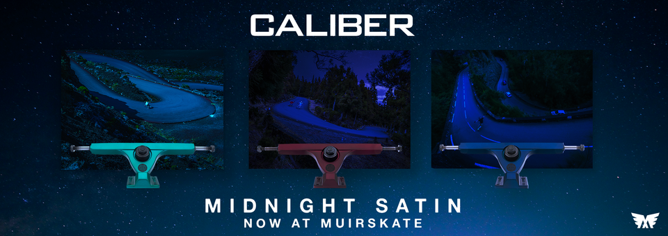 Click the banner to check out Caliber's new Midnight Satin trucks.