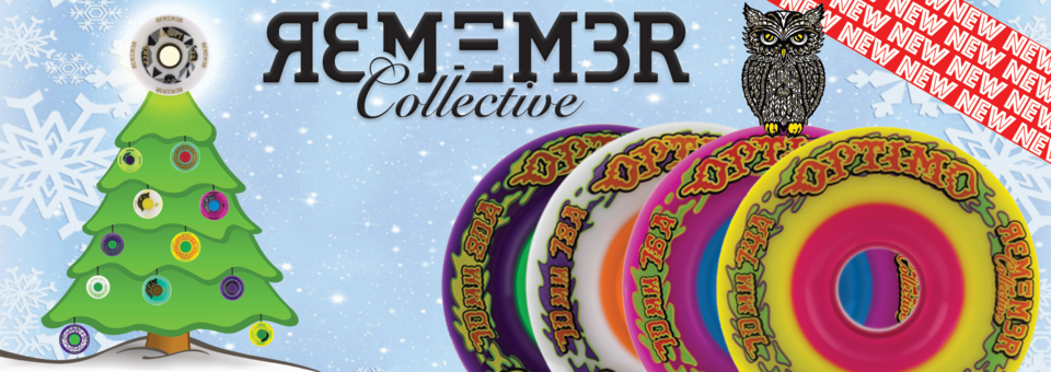 New Remember Collective is in stock at MuirSkate! Click here for the Optimum Freeride Experience!