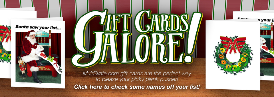 Grab a gift card for your picky plank pusher!