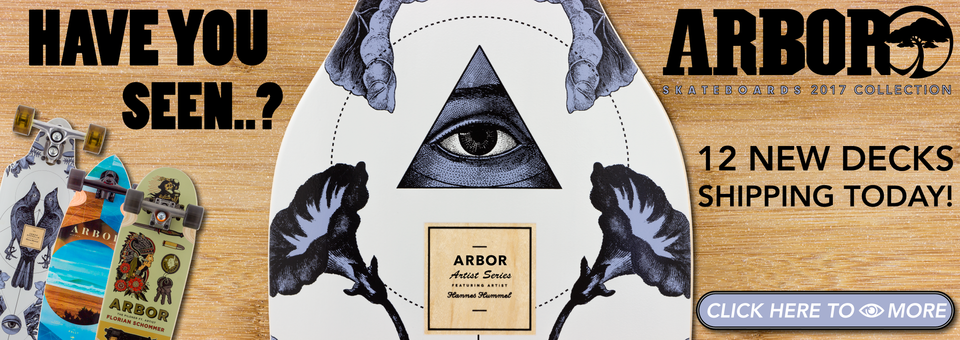 Click to see the new Artist Series, and much much more from Arbor!