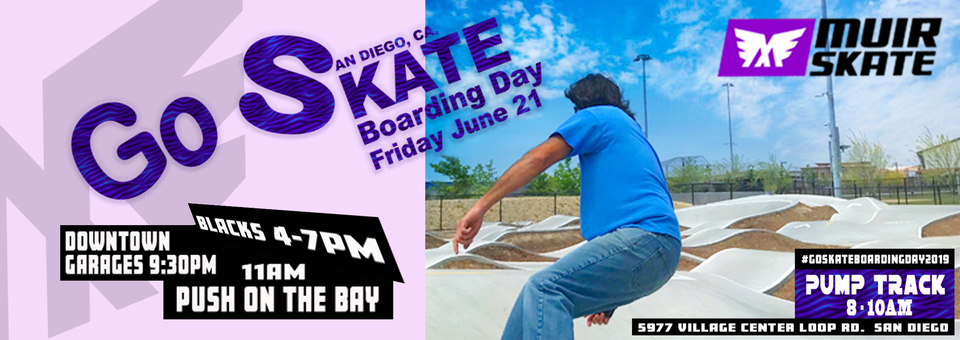 Go Skateboarding Day 2019 Events